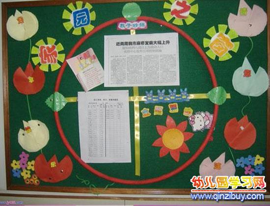 幼儿园教案网 环境布置