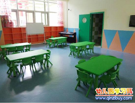 绿色风格(幼儿园教室环境布置)