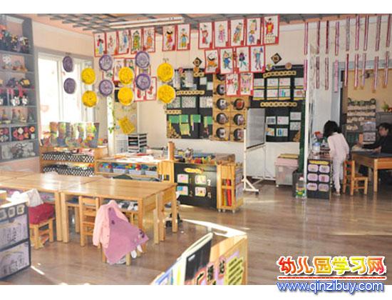 少数民族(幼儿园教室环境布置)—幼儿园环境布置图片