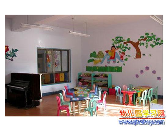 小班教室_幼儿园区角环境布置1