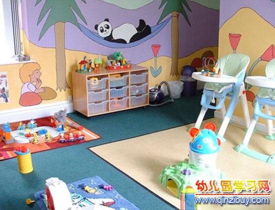小班教室_幼儿园区角环境布置2—幼儿园环境布置图片