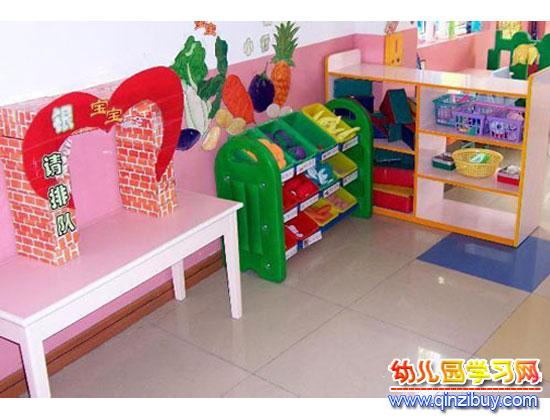 银行窗口_幼儿园区角环境布置—幼儿园环境布置图片