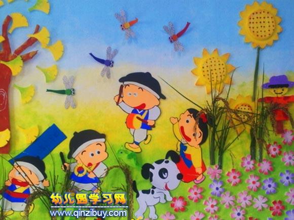 幼儿园科学墙_科学考察│幼儿园墙面环境布置图片—幼儿园环境布置图片