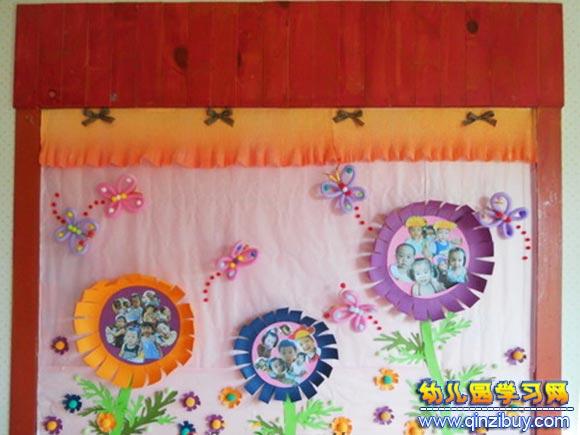 祖国的花朵│幼儿园墙面布置图片—幼儿园环境布置