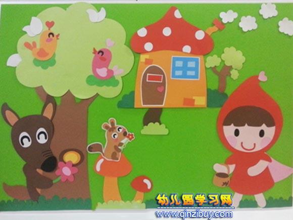 春天真好│幼儿园环境布置图片