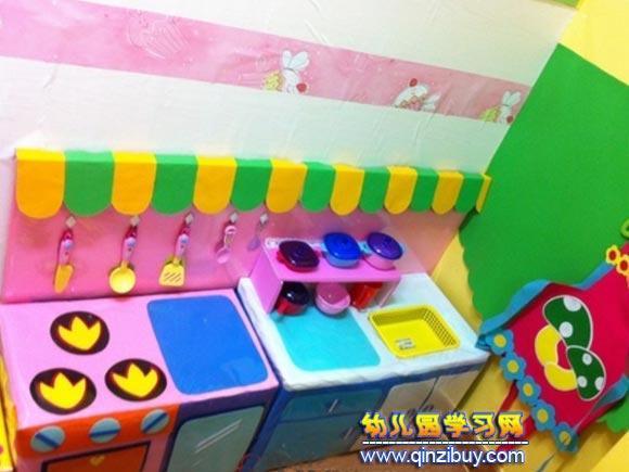 幼儿园小班娃娃家布置,幼儿园娃娃家装饰,幼儿园娃娃家进区规则,幼儿
