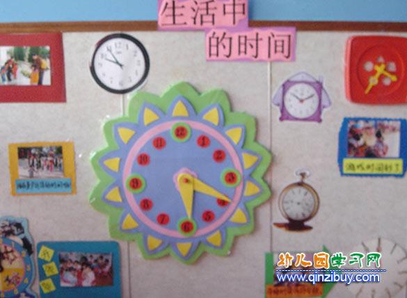 幼儿园墙面布置设计图片