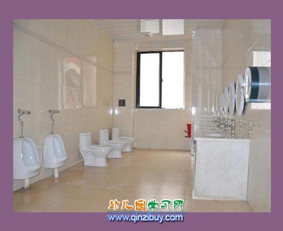 儿童卫生间_幼儿园区角环境布置图片5—幼儿园环境