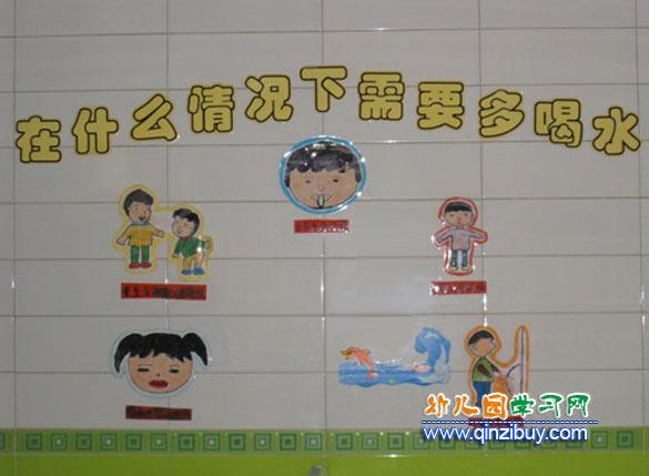 什么情况下多喝水_幼儿园墙面布置图片