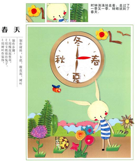 春天来了_幼儿园墙面布置图片—幼儿园环境布置图片