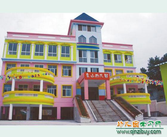 幼儿园教学楼图片_幼儿园教学楼_幼儿园户外环境设计6—幼儿园环境布置图片