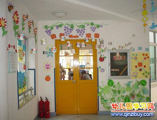 教室门口布置_幼儿园区角环境布置