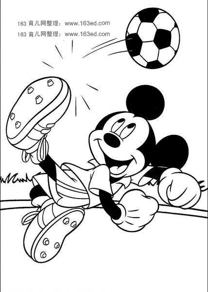 米老鼠简笔画2