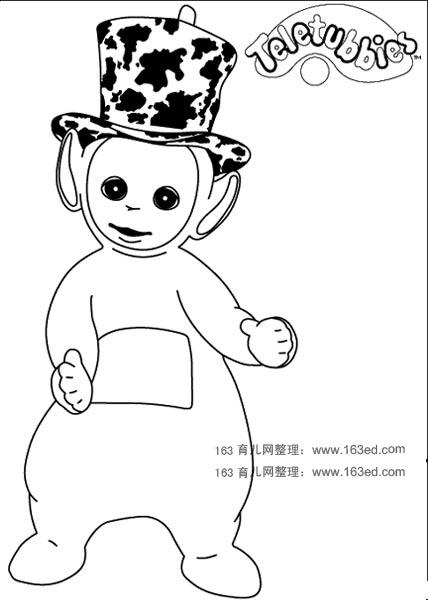 幼儿园教案_简笔画:天线宝宝5_幼儿999