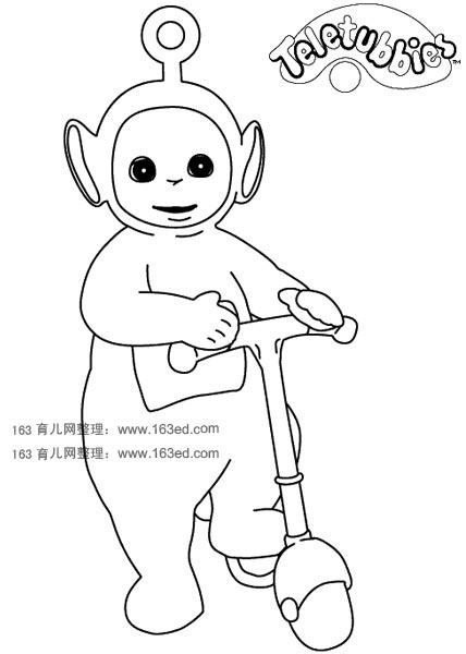 天线宝宝简笔画6