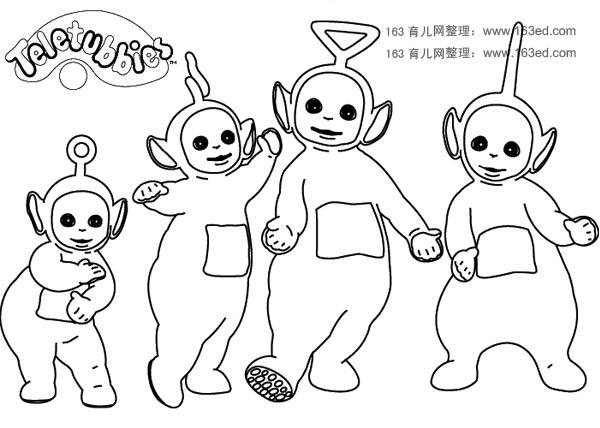 天线宝宝简笔画10—幼儿园教案网