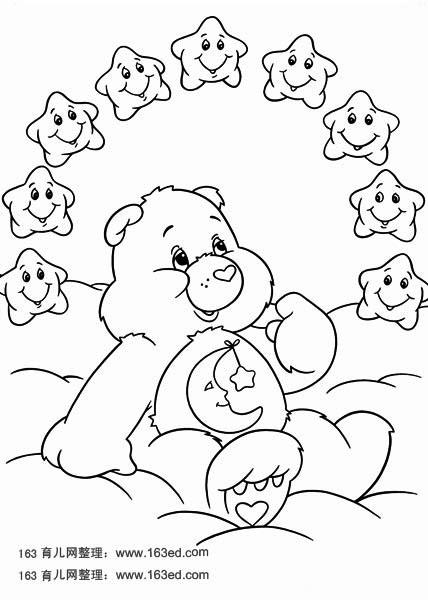 卡通简笔画:小熊维尼49