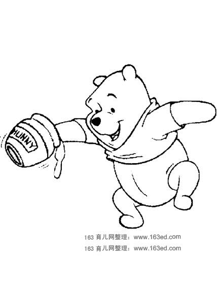 简笔画 小熊维尼25