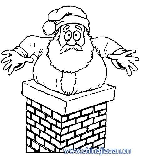 圣诞老人简笔画50