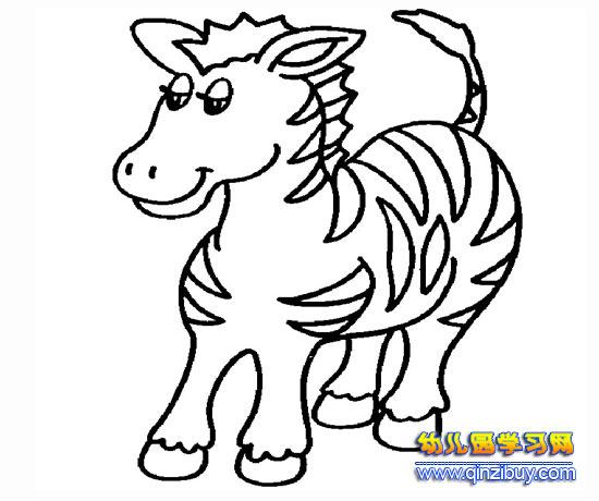 关于马的简笔画图片内容 关于马的简笔画图片版面设计