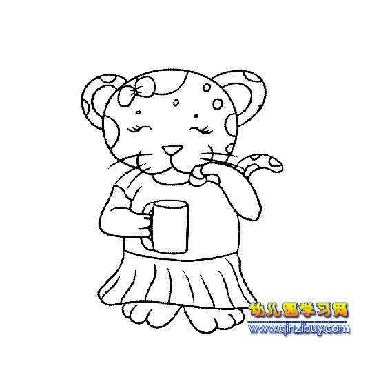 人物简笔画:新娘3 幼儿园学习网图片
