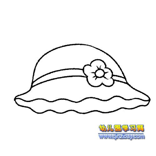 公主帽简笔画1-幼儿园教案网