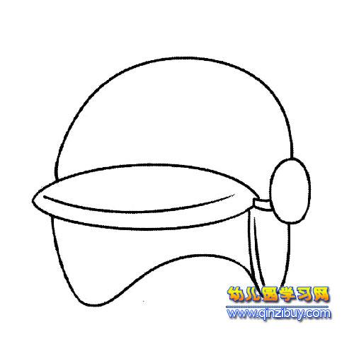 帽子设计图手绘图片