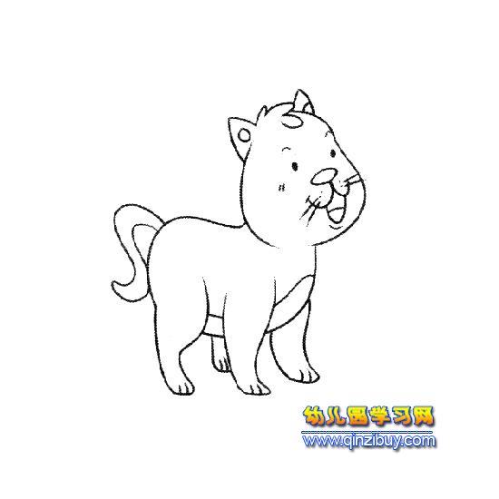 小猫简笔画(带颜色)内容图片展示_小猫简笔画(带颜色)图片下载