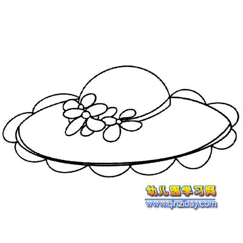 公主帽简笔画5—幼儿园教案网