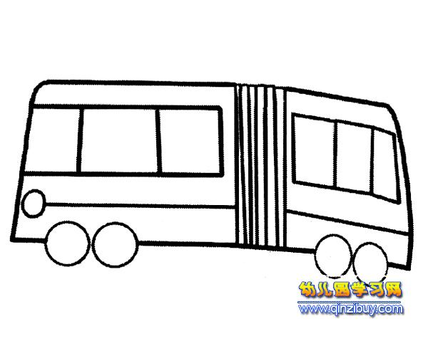 简笔画 一辆公交车7
