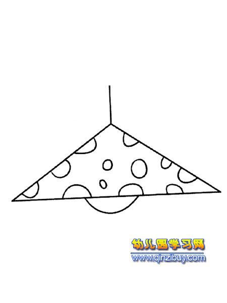 日用品简笔画:吊灯3—幼儿园教案网