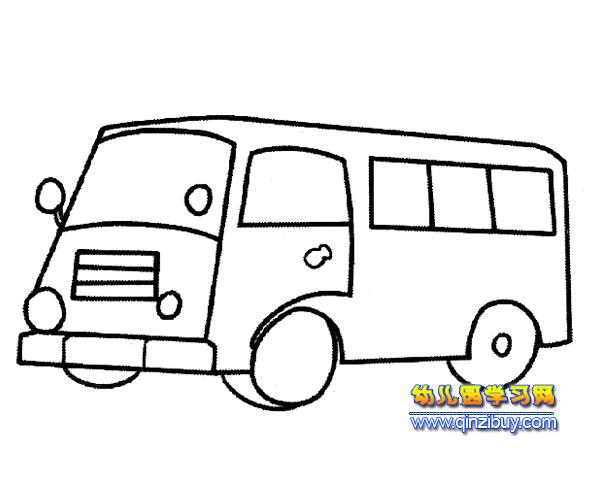 简笔画 一辆公交车6