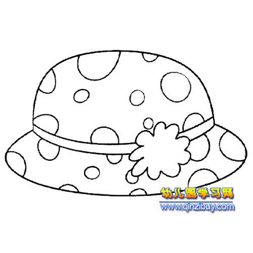 简笔画│漂亮的帽子2-幼儿园教案网