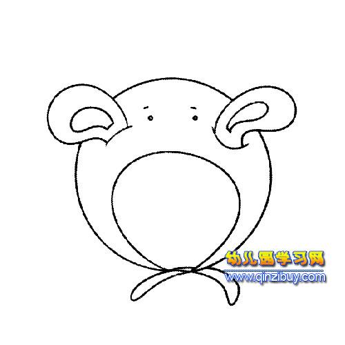 可爱的帽子(简笔画)3-幼儿园教案网