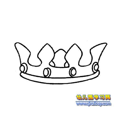 王冠简笔画1