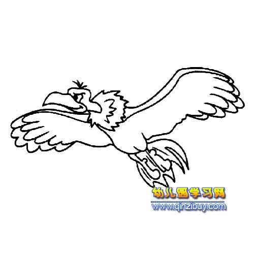 展翅;翅膀;老鹰;个性字母;图形标识;手绘;插画;卡通 ...