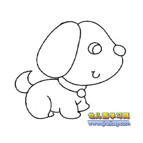 简笔画 小狗宝宝 3