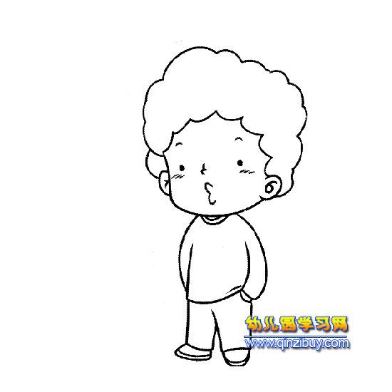超可爱卡通人物卖萌图男生_绘画超可爱卡通人物