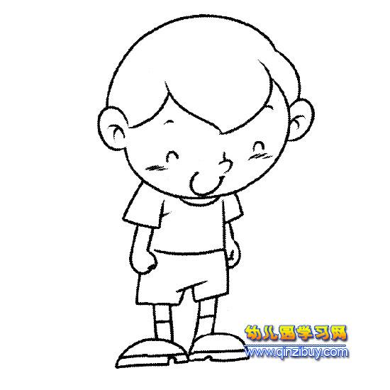 小女孩简笔画长发女孩简笔画幼儿园长发女孩简