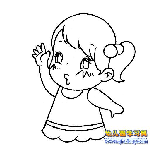 动物简笔画,小动物简笔画大全,儿童卡通动物简笔画