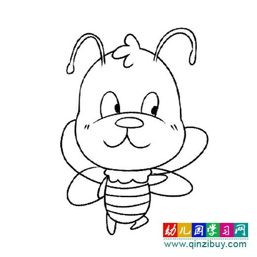 搞笑的狮子简笔画4,幼儿园网