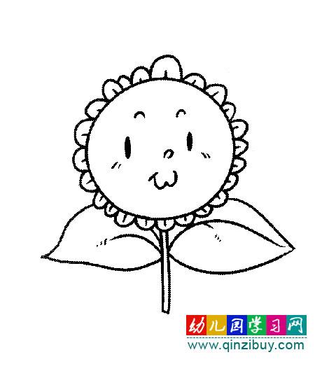 幼儿园教案网 简笔画 植物花卉