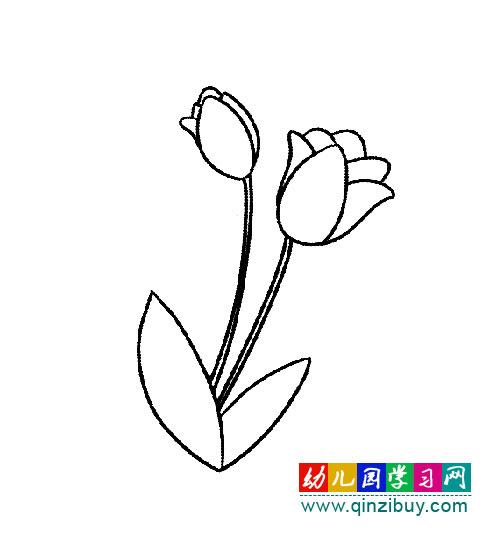 美丽的手帕简笔画内容|美丽的手帕简笔画版面设计