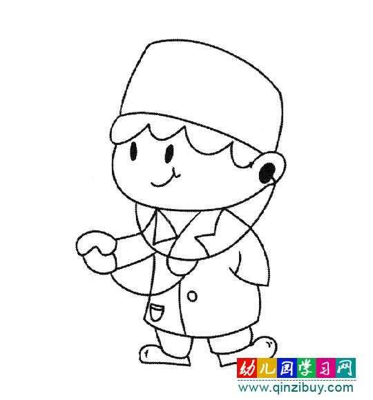 幼儿服装手绘效果图