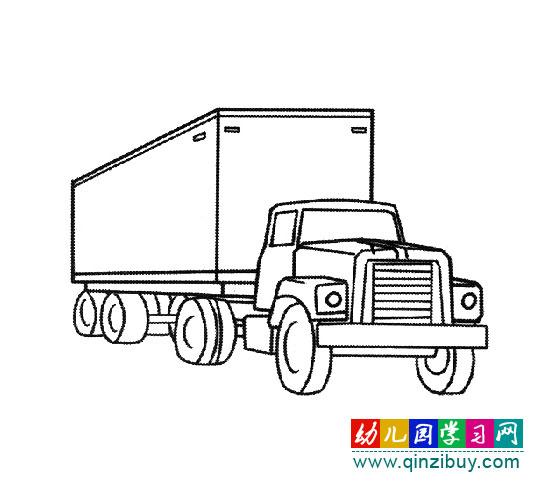 简笔画教案:小汽车3 幼儿园学习网