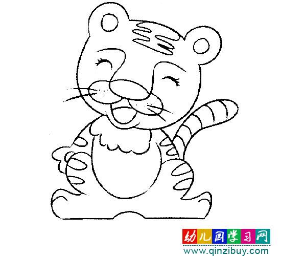 超萌可爱小猫简笔画