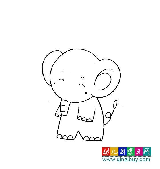 动物 >> 正文    编辑:小画师                幼儿简笔画:散步的大象