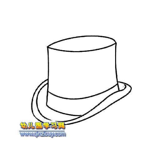 幼儿园帽子简笔画图片下载