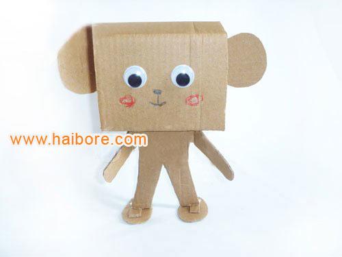 幼儿园环保手工制作:机器人