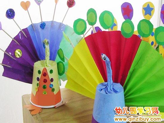 幼儿园环保手工:幼儿手工作品5